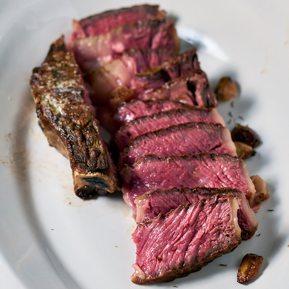 A Jorge ribsteak from Flannery Beef.
