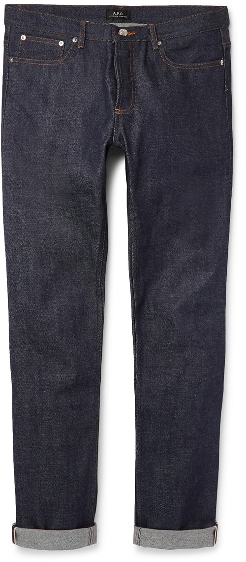 Men's Petit New Standard Skinny-Fit Dry Selvedge Denim Jeans by APC