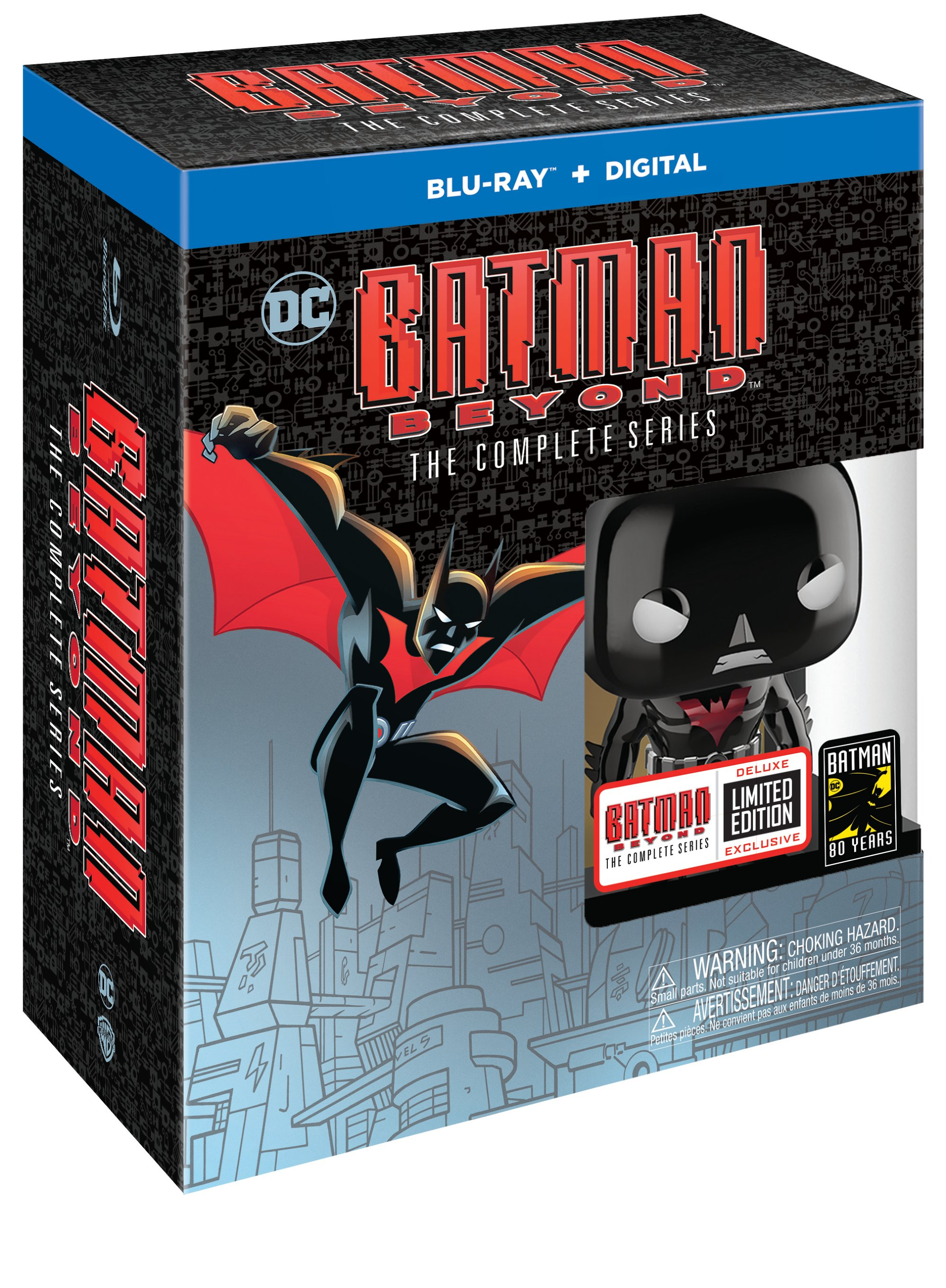 Batman Beyond: The Complete Series (Blu-ray + Digital) by Warner Brothers