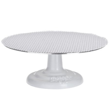 Cast Iron and Non-slip Pad Cake stand, 12 inch,  by Ateco