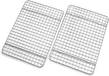 Quarter size cooling rack, 2-Pack by Checkered Chef
