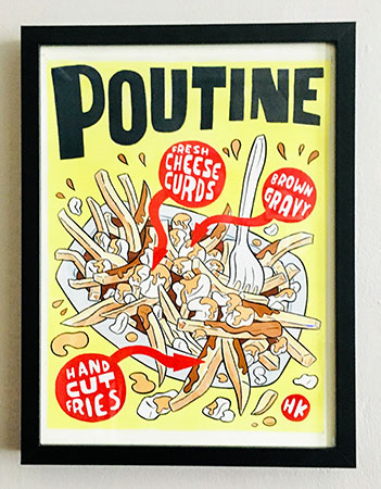 Poutine Original by Hawk Krall