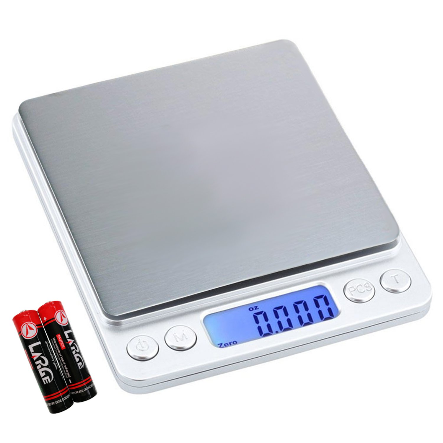 Digital Kitchen Scale Multifunction Food Scale, 500g/0.01g by Wecolor