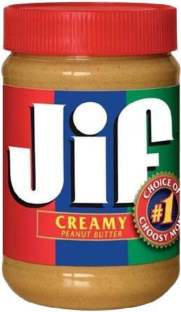 Creamy Peanut Butter 16 oz. 2 Pack by Jif