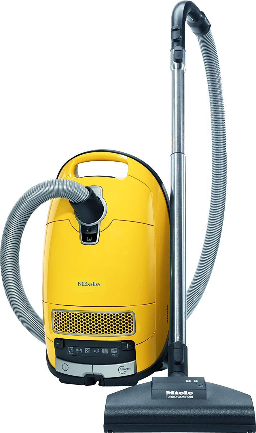C3 Calima Canister Vacuum, Canary Yellow by Miele