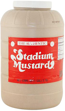 1 Gallon Bottle by Stadium Mustard