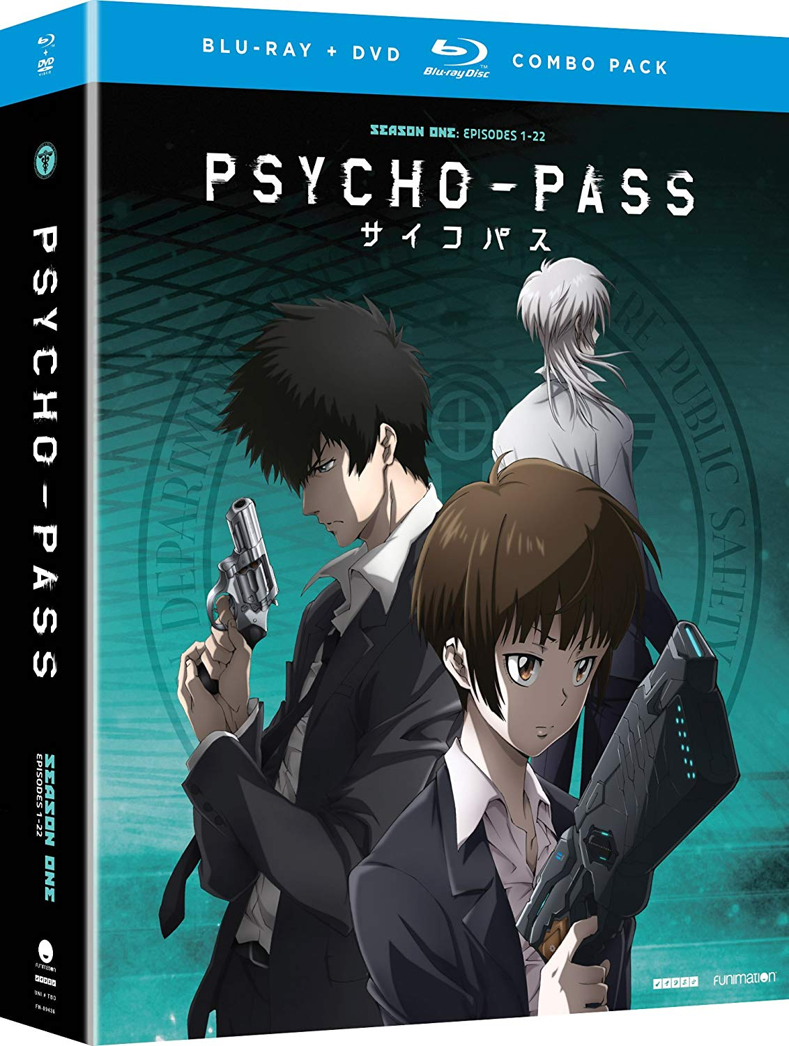 Psycho-Pass: Season One by Funimation