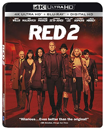Red 2 4K Blu-ray by Summit Entertainment