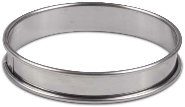 Flan Ring - 4 inch - Stainless Steel by Flan Horn Leg Horn Ringworks