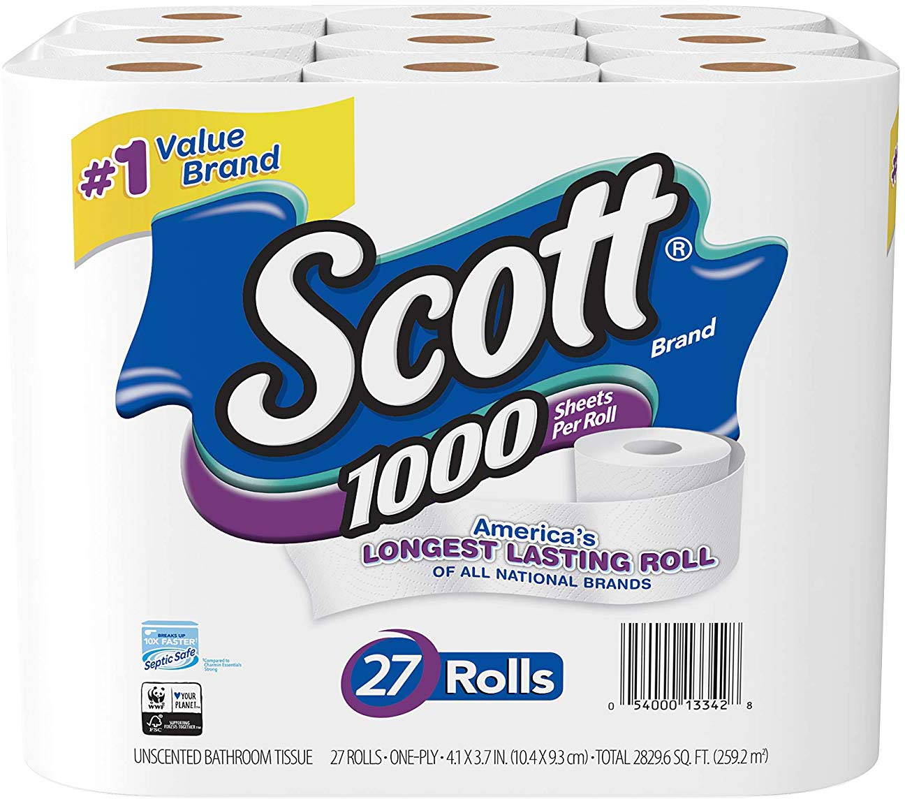 Toilet Paper, 27 Count by Scott