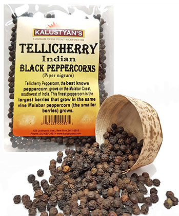Black Peppercorn, Tellicherry, India by Kalustyan