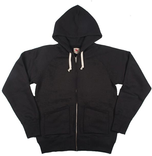 Heavy Loopwheeled Zip Hoodie by The Strike Gold