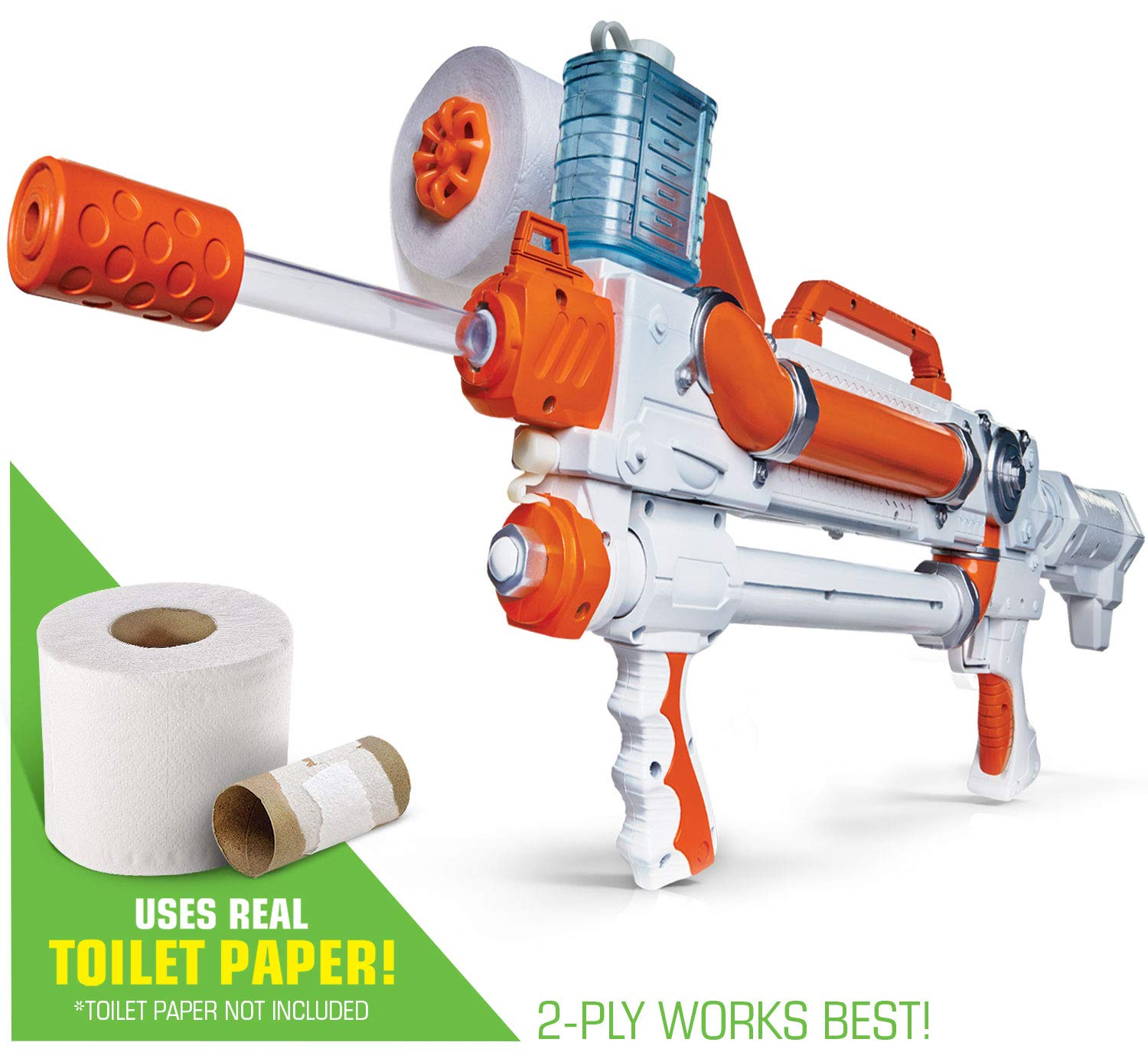 Toilet Paper Blasters Sheet Storm by TP Blaster